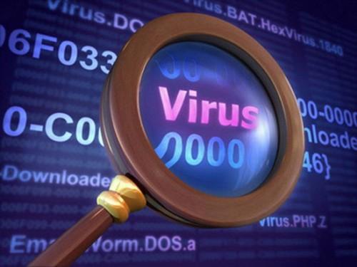 Máy tính bị nhiễm Virus